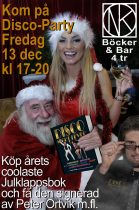 Disco-Party på NK 13 december – Med Boksignering