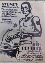 Big Brother Sydney´s första  riktiga Disco på Körsbärsvägen