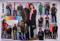 Veckotidningarnas uppslag från Releasefesten
