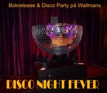 ÅHHH Vilket Party – Bokrelease & Disco Party På Wallmans